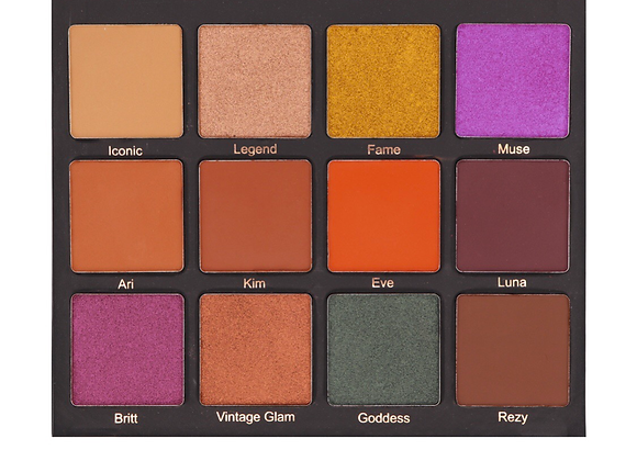 The makeup shack - muse palette