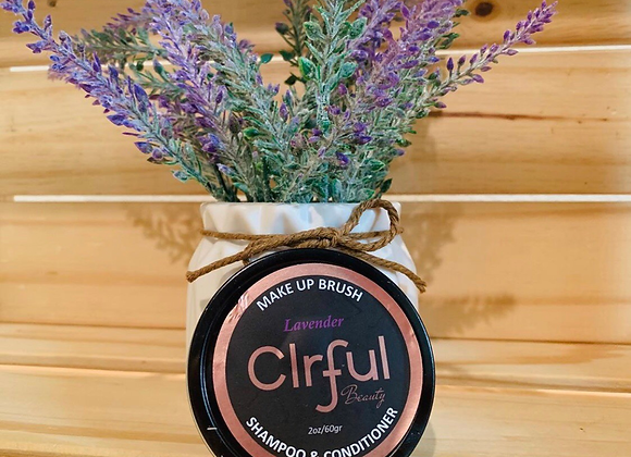 Clrful beauty makeup brushes shampoo & conditioner