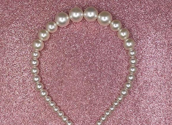 Pearled headband