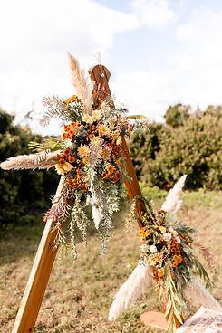 Wedding Ceremony Boho Florals Jersey