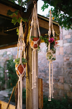 Wedding Decor Macrame Boho Jersey