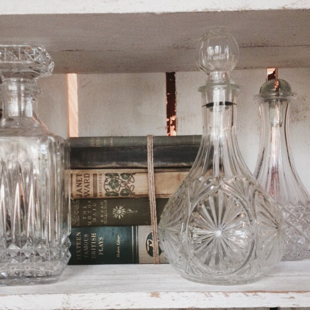 {Glass Decanters}
