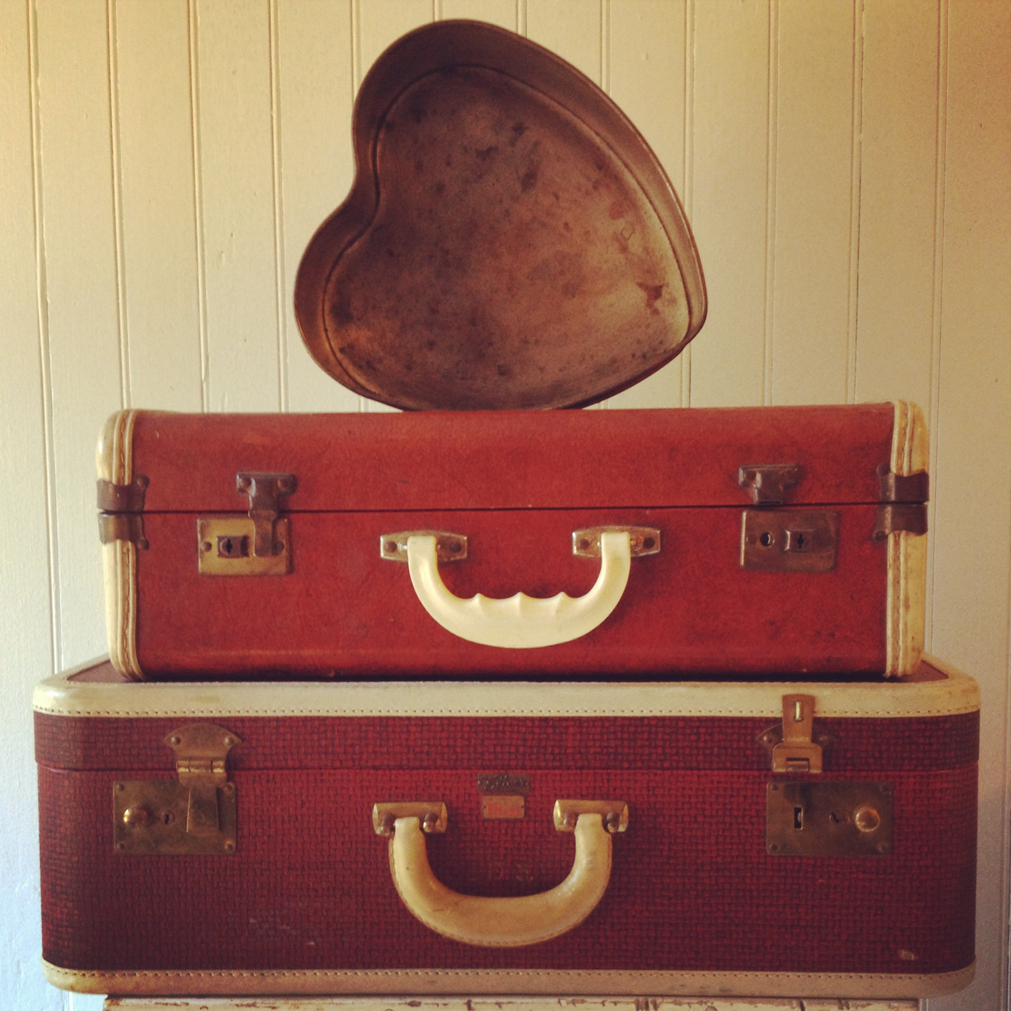 {Lynette Red Suitcase}