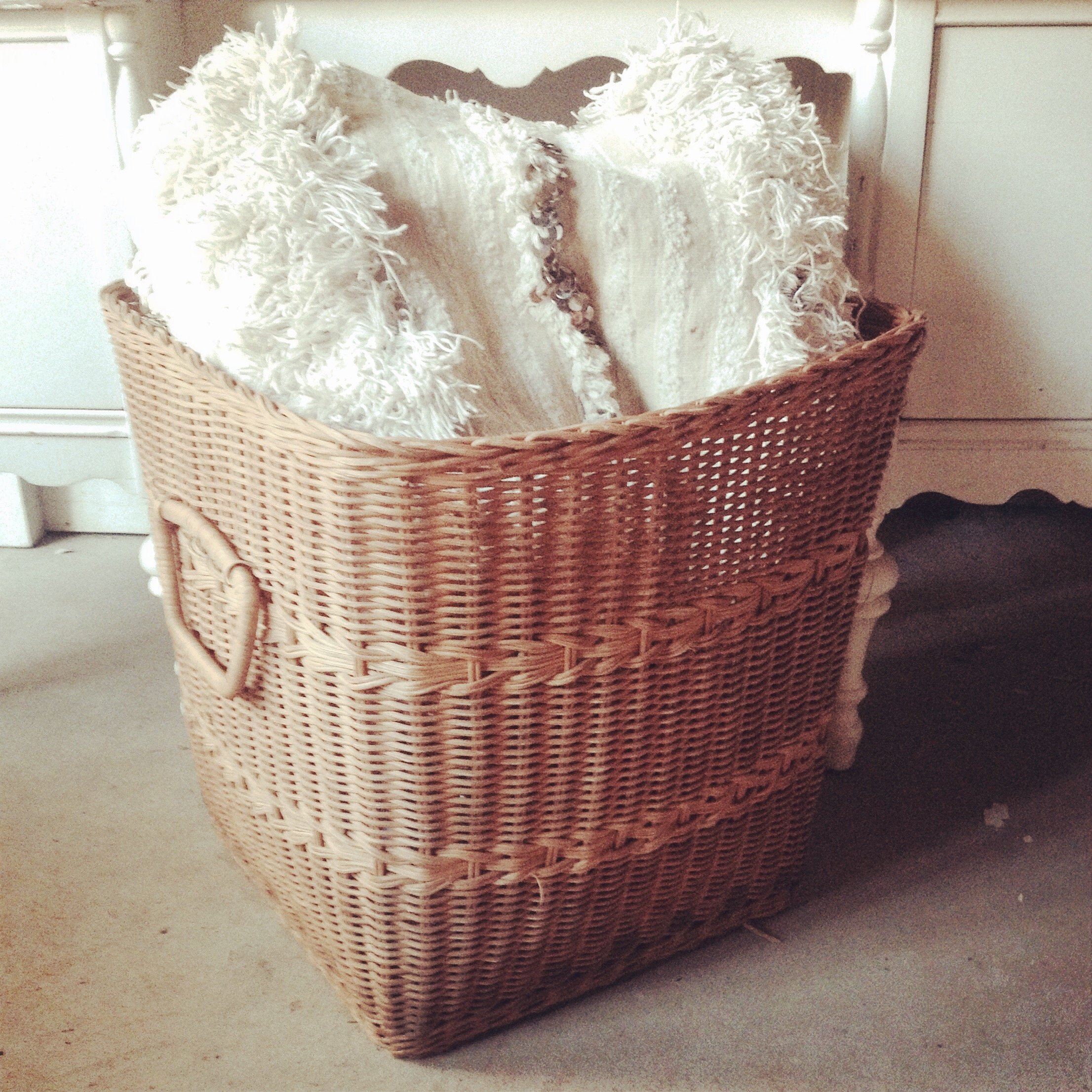 {Wicker Basket}