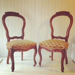 {Genevieve Upholstered Chairs}