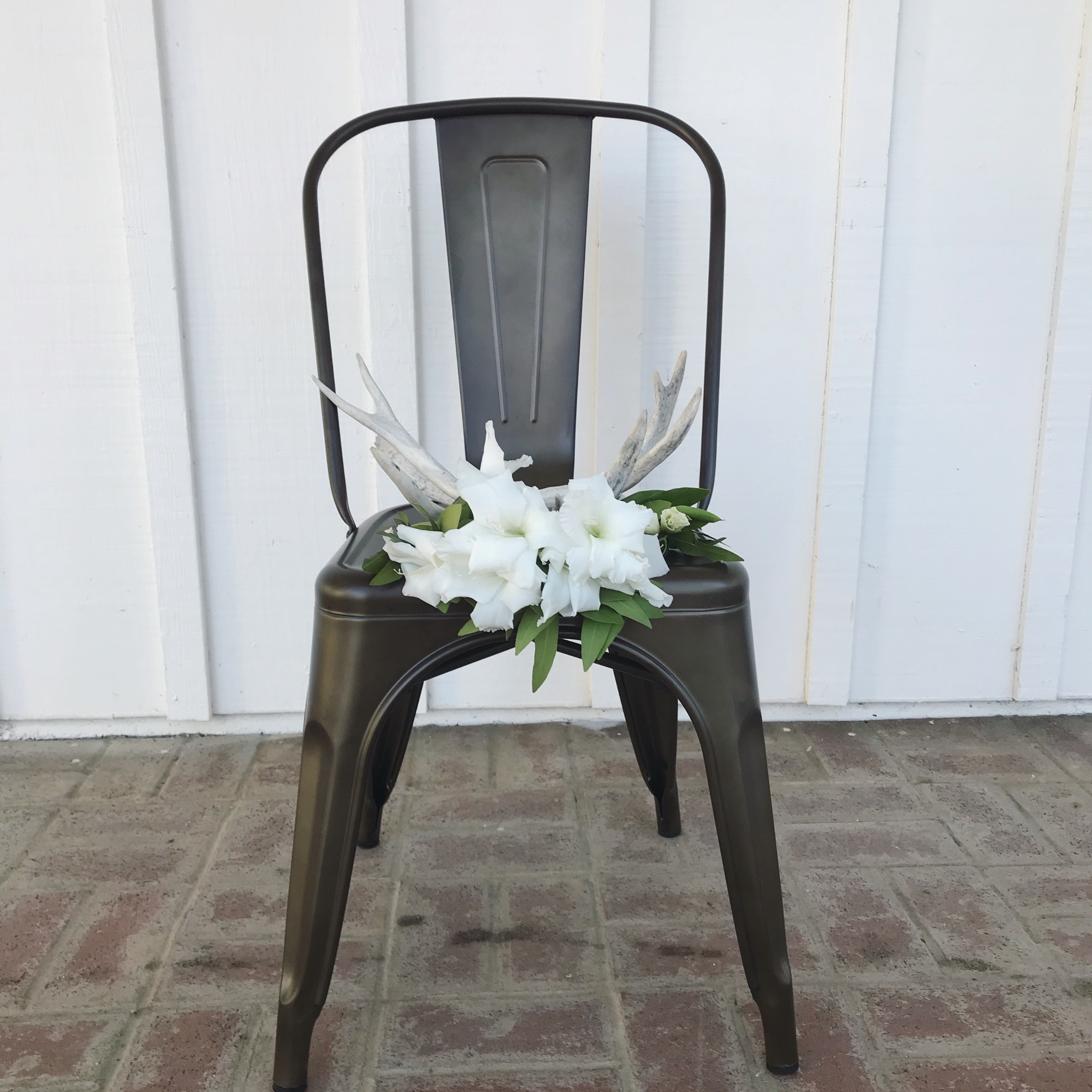 {Metal Tolix Chairs}