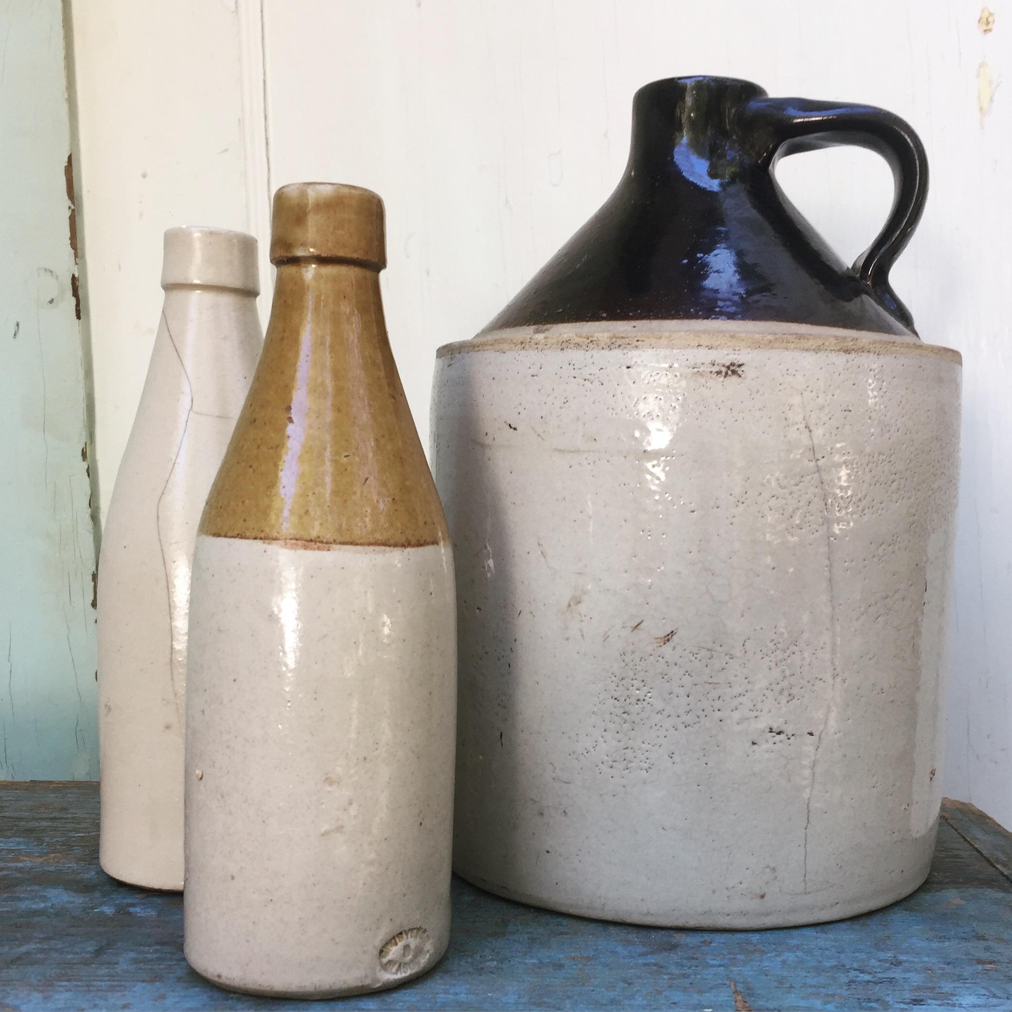 {Stoneware Bar Vessels - M & L}