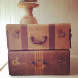 {Amelia Brown Suitcase}