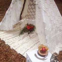 {Moroccan Wedding Cape}