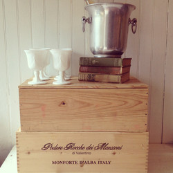{Wooden Wine Boxes}