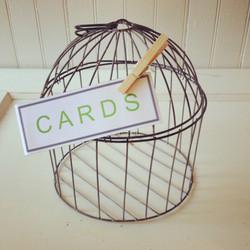 {Round Wire Birdcage - $5}