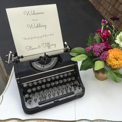 {Black Typewriter}