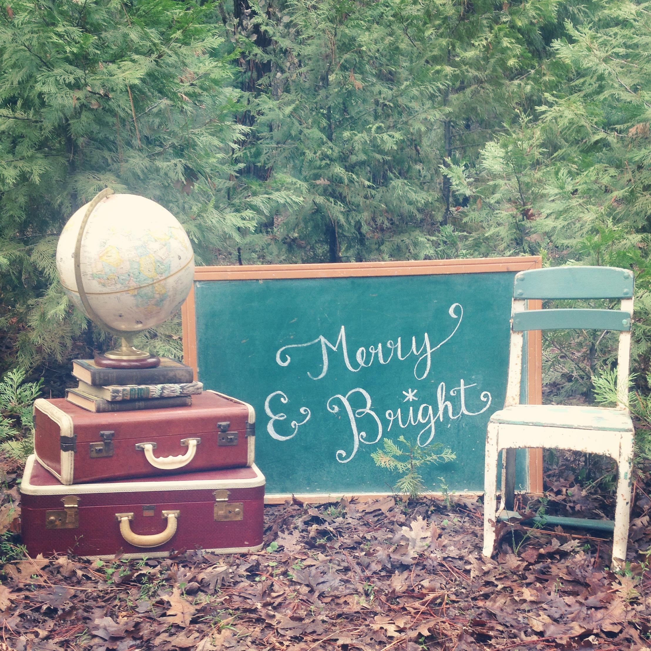 {School Chalkboard}