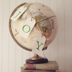 {Large Cream Globe}
