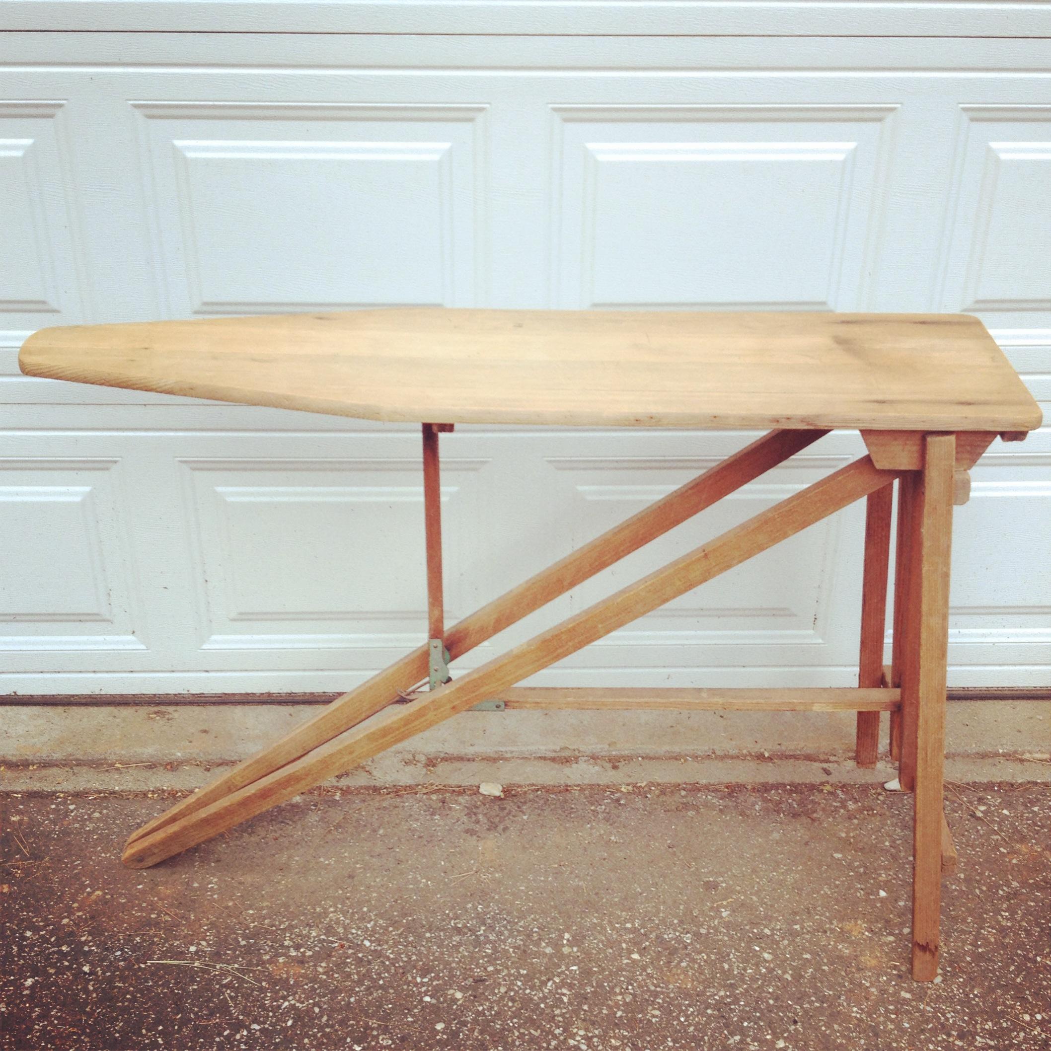 {Mimi Wood Ironing Board}