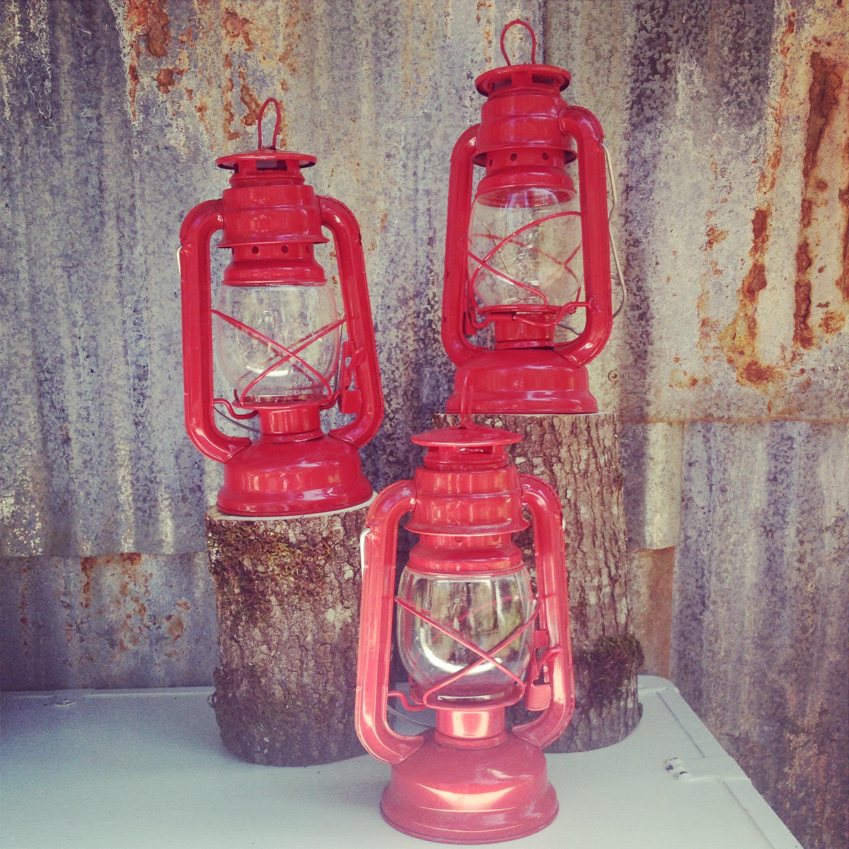 {Red Camp Lanterns - 4}
