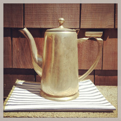 {Silver Coffee Pot}