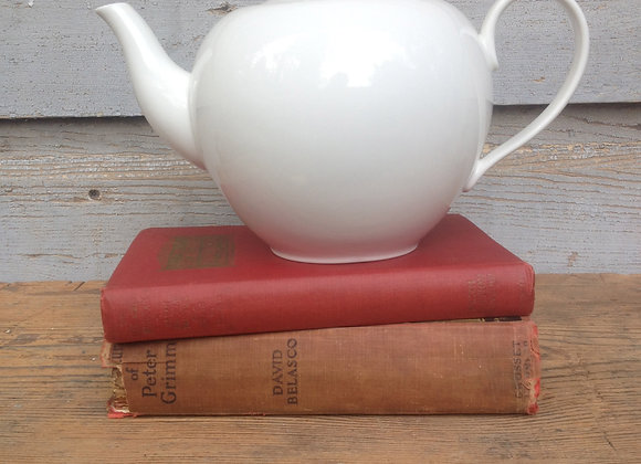White Martha Stewart Teapot