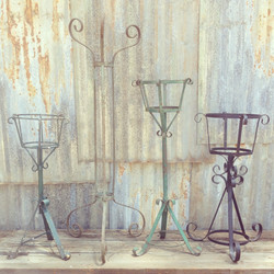 {Metal Plant Stands}
