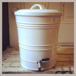 {Ceramic Jar with Spout - 1}