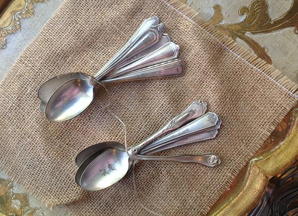 Vintage Silverplate Teaspoon Set