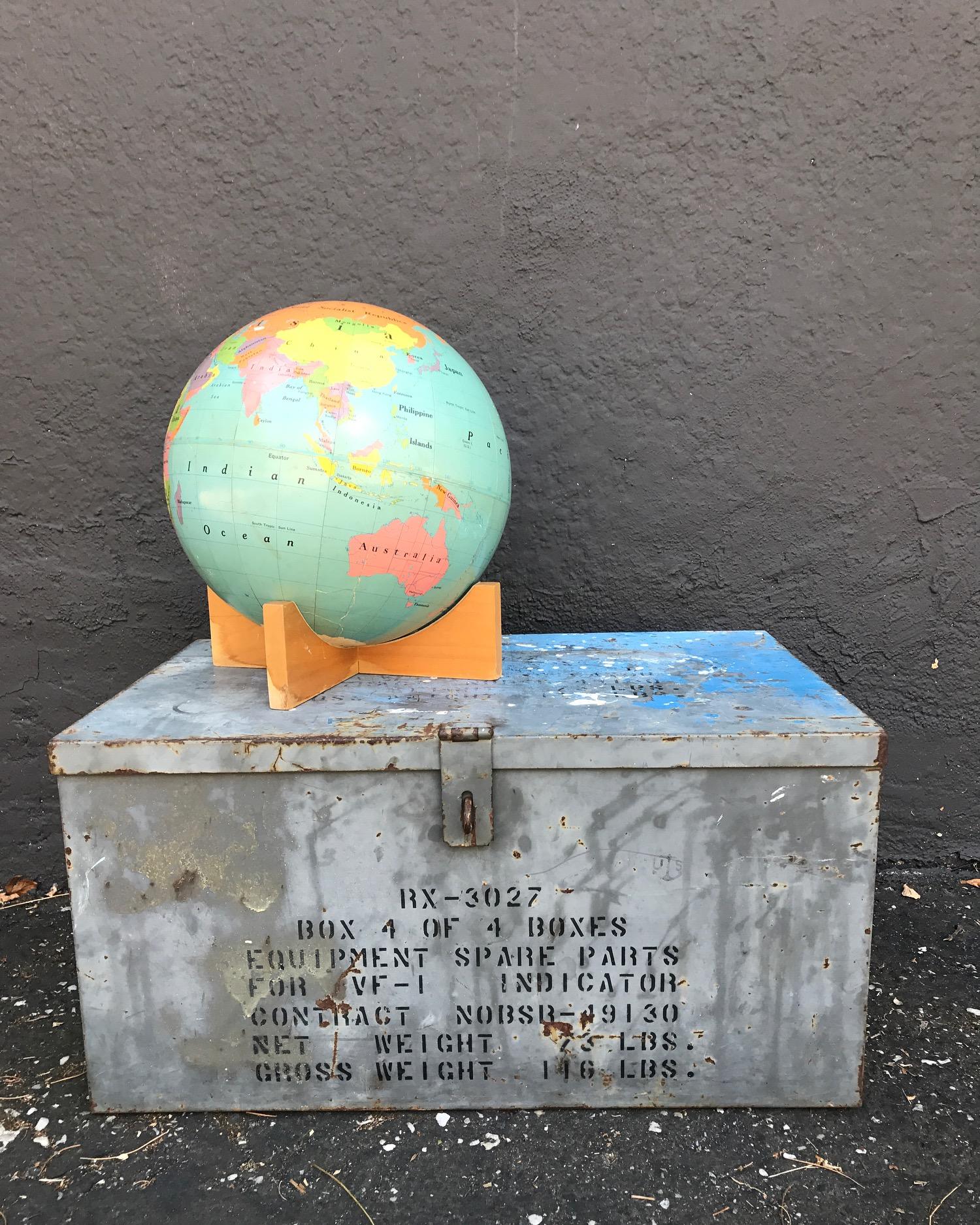 {Large Turquoise Globe}