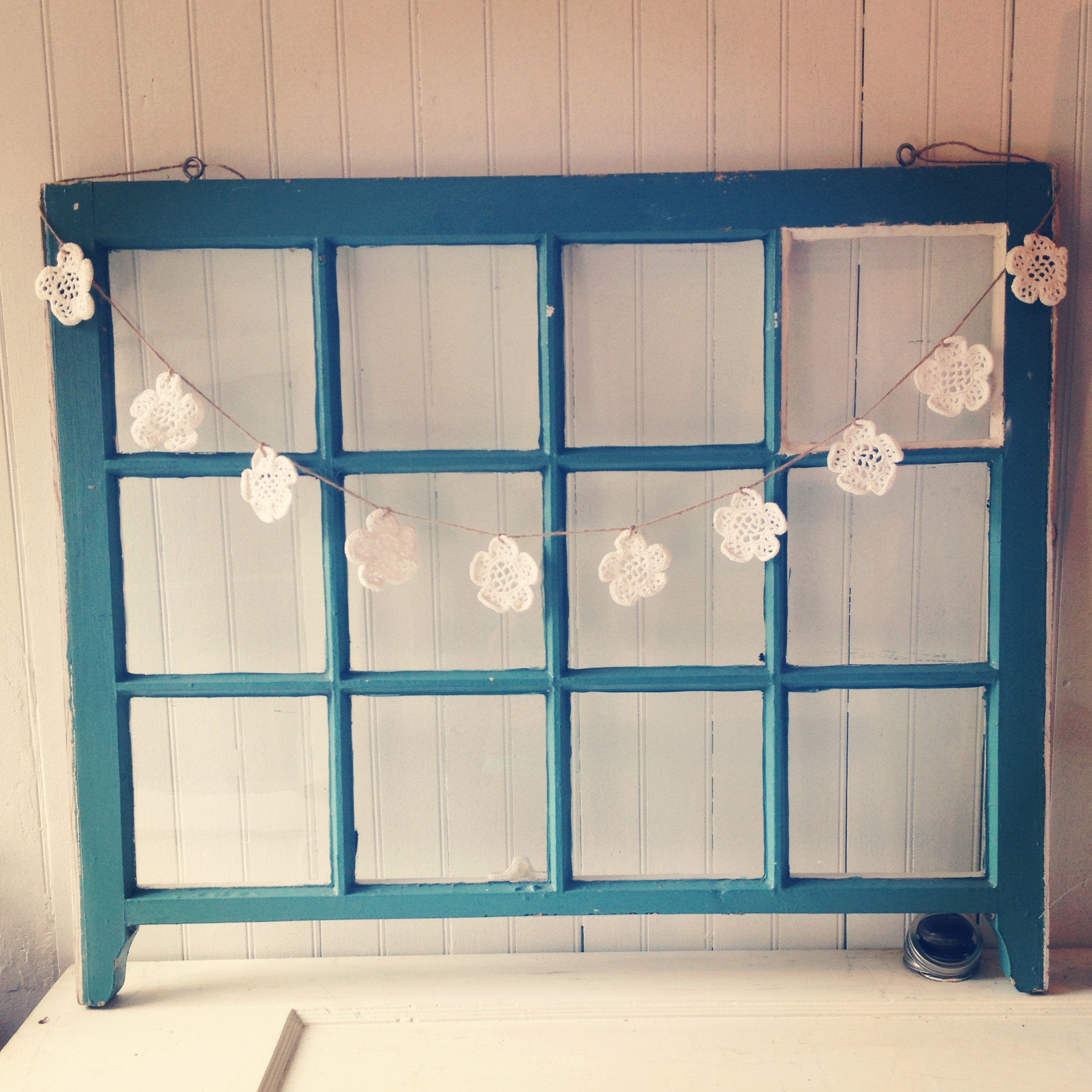 {12-paned Window Frame - back}