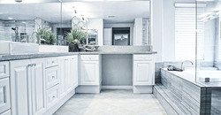 #detail #socal #nikon #bathroom #fixtures #cabinet #luxurybath #romansebek #shower #contemporary #mo