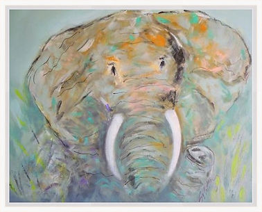 Adams elephant white frame.jpg