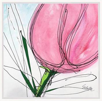 pink tulip white frame.jpeg