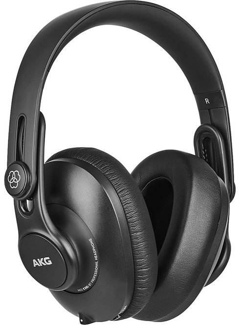 AKG K361BT Over-ear, closed-back, foldable studio headphones with Bluetooth