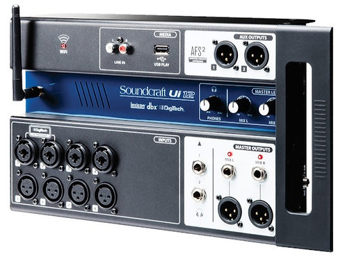 SOUNDCRAFT UI-12 - 12-input Remote-Controlled Digital Mixer