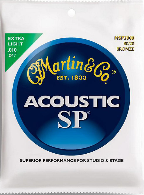 MARTIN SP, EXTRA LIGHT, 80/20 - MSP3000
