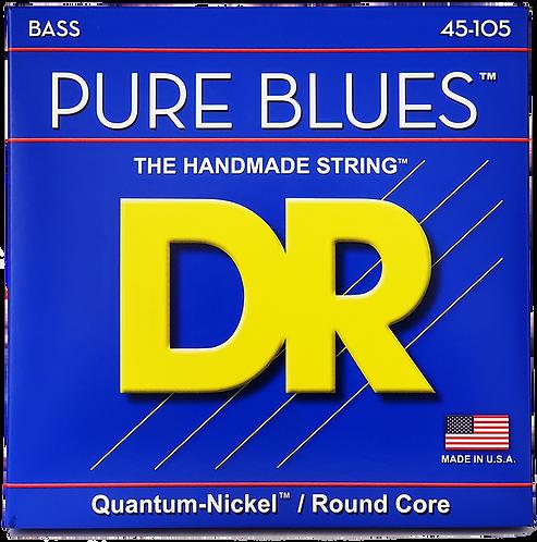 DR STRINGS PURE BLUES 45-105 PB-45