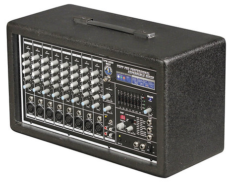 TOPP PRO TPM8250 8CH POWER MIXER