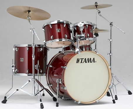 TAMA SUPESTAR CL MAPLE 5-PIECE   SHELL KIT