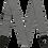 Thumbnail: FENDER STRAP MODERN TWEED WHITE BLACK