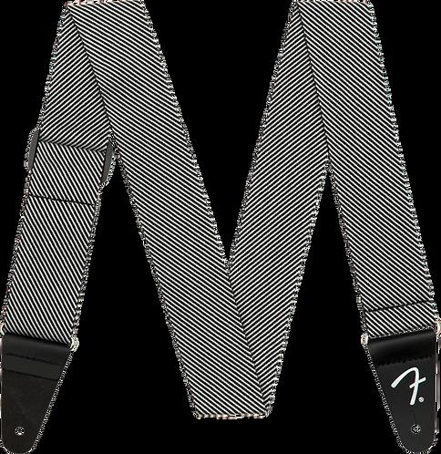 FENDER STRAP MODERN TWEED WHITE BLACK