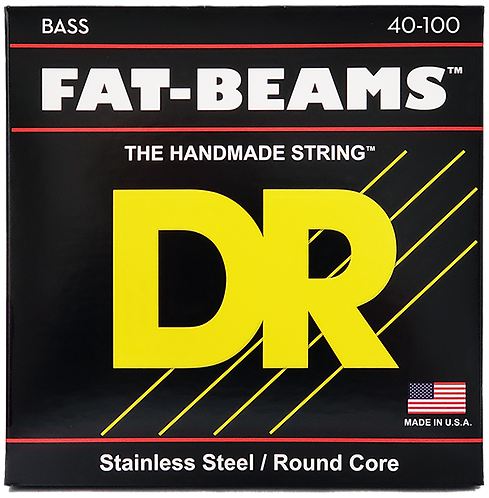 DR STRINGS FAT BEAM 40-100 FB-40