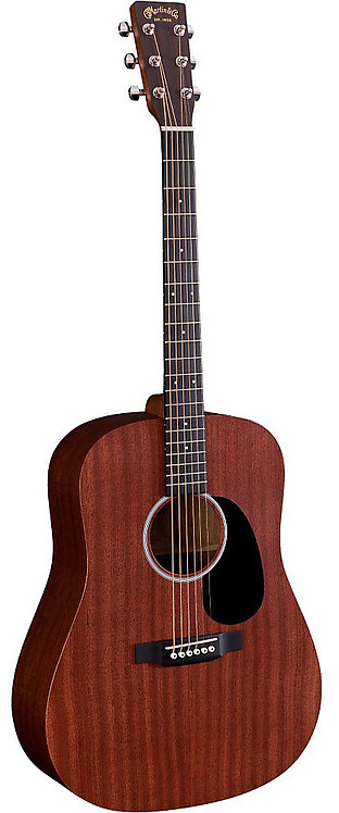 MARTIN GUITAR WITH CASE - 10DRS1