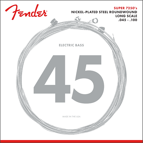 FENDER BASS STRINGS NPS RW LS 7250ML 45-100
