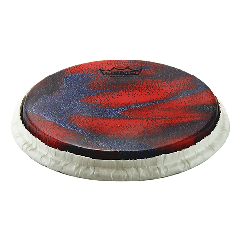 """REMO TUCKED SKYNDEEP BONGO DRUMHEAD - PETRIFIED CAVE GRAPHIC, 8.50"""""""