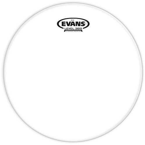 EVANS G12 CLEAR DRUM HEAD, 12 INCH