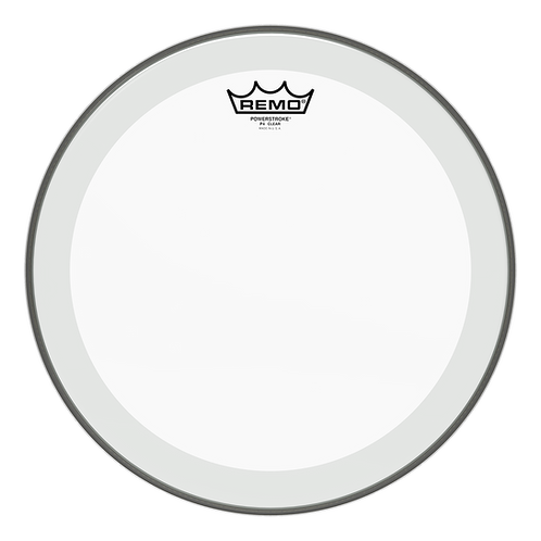 REMO POWERSTROKE P4 CLEAR DRUMHEAD, 13""