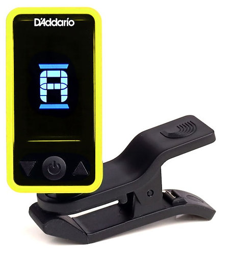 PLANET WAVES ECLIPSE HEADSTOCK TUNER, YELLOW