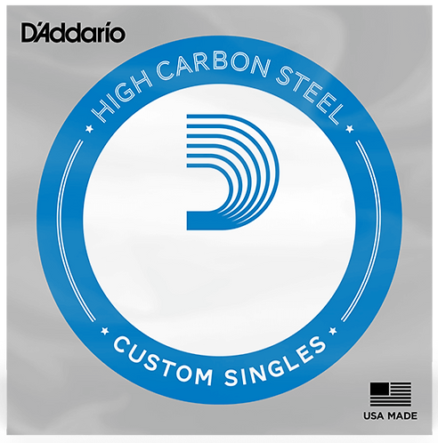 D'ADDARIO PL026 PLAIN STEEL GUITAR SINGLE STRING, .026