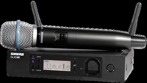 SHURE GLXD24R/B87A GLX-D ADVANCED DIGITAL WIRELESS VOCAL SYSTEM