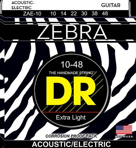 DR STRINGS ZEBRA   ZAE-10