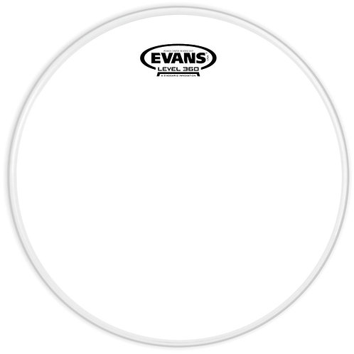 EVANS POWER CENTER REVERSE DOT DRUM HEAD, 10 INCH