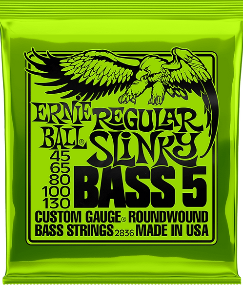 ERNIE BALL 2836 SLINKY 5BASS 45-130